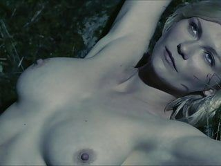 Kirsten dunst - melancholia undressed topless breasts