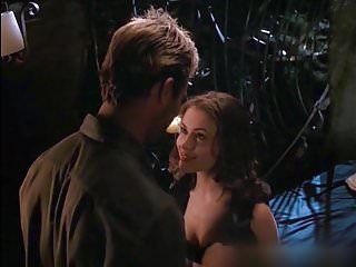 Alyssa milano naked love melons in poison ivy two clip