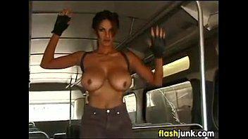Breasty hottie as lara croft disrobes nude