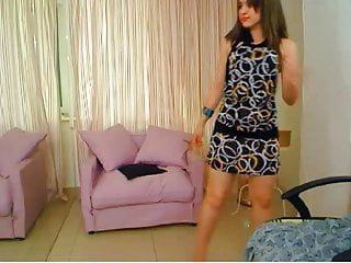 Littleteenbb little riley dances in heels, topless, scoops