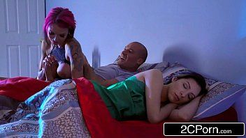 Lustful female-dominator anna bell peaks is turned on when the lights are off