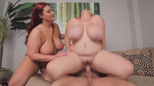 Bulky mothers with huge whoppers